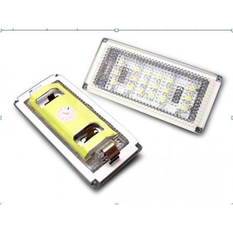 Eclairage de plaque LED - Blanc Pur BMW E46 Coupe