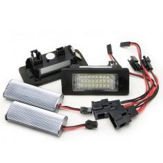 Eclairage de plaque LED - Blanc Pur AUDI