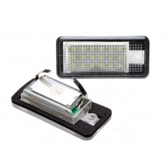Eclairage de plaque LED - Blanc Pur AUDI A3, A4, A6, Q7