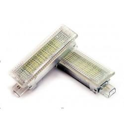 Eclairage de portes/pieds LED Blanc Pur pour BMW