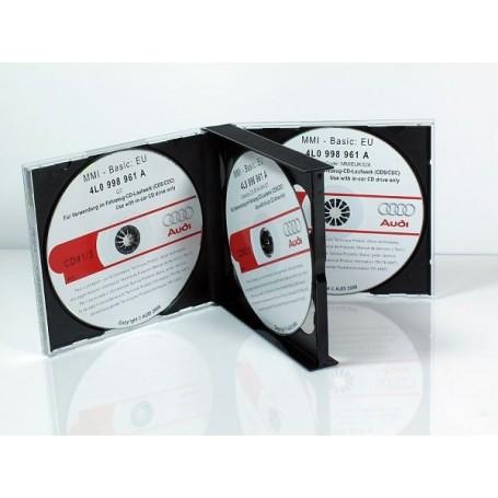 CD Audi MMI 2G mise à jour système 55.7.0