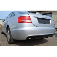 Diffuseur arrière Audi A6 C6 RS6 Look