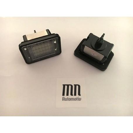 Eclairage de plaque LED Mercedes Classe C, E