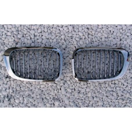 2x Grilles de Calandre BMW E46 Chrome