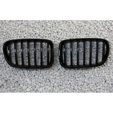 2x Grilles de Calandre BMW F25 X3 - Noir Brillant