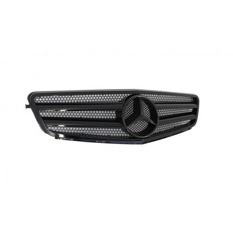 Calandre Mercedes Classe C Avantgarde Noir Brillant W204