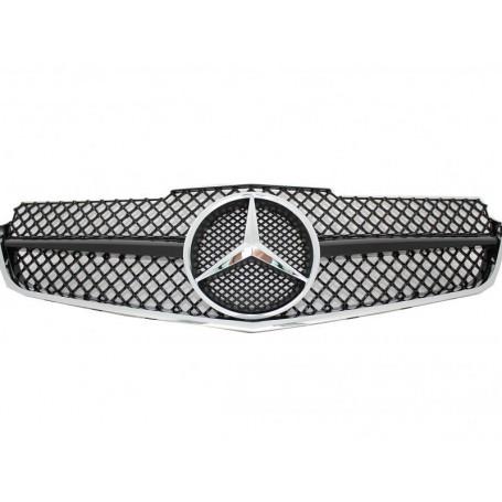 Calandre Mercedes Classe E Coupe Cabrio W207 noir