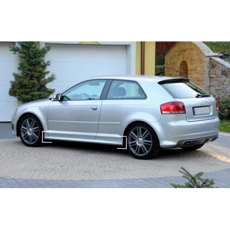 2x Bas de caisse Audi A3 8P 3 Portes - Look S3