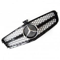 Calandre Mercedes Classe C Amg Design Noir brillant W204