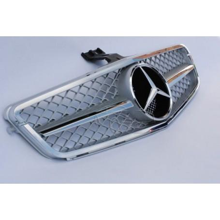 Calandre Mercedes Classe C Amg Design W204 Chrome 07-12