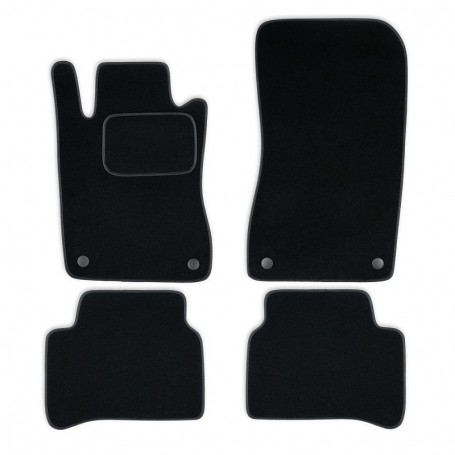 Set tapis velours noir Mercedes E W211 02-09
