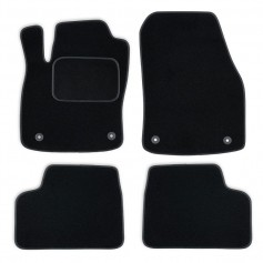 Set tapis velours noir Mercedes C W204 07-13