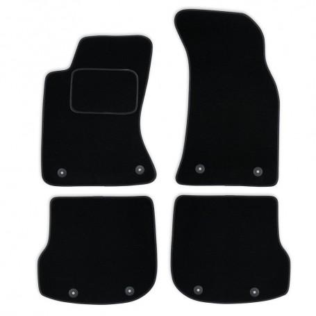 Set tapis velours noir Audi A4 B5 94-01