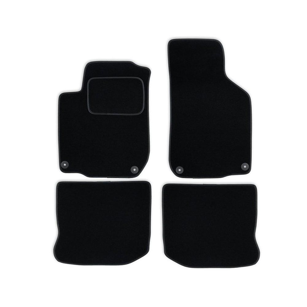 Set tapis velours noir Vw Golf IV 97-05