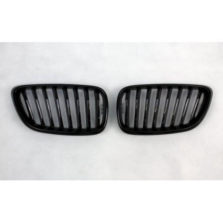 2x Grilles de Calandre BMW Serie 2 F22 F23 Noir brillant