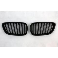2x Grilles de Calandre BMW Serie 2 F22 F23 Noir mat
