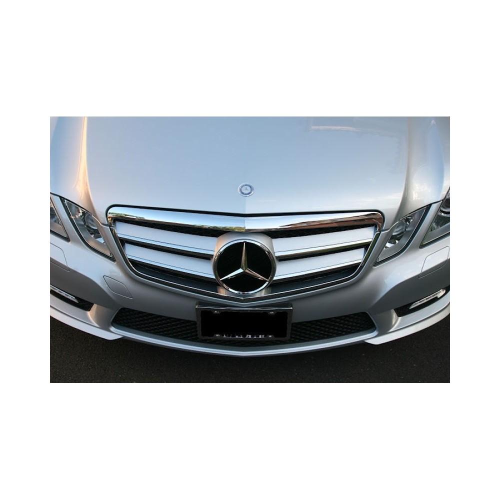 Calandre Mercedes Classe E Amg Design Silver W212 09-13