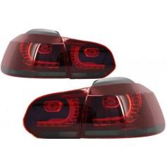 2x Feux a LED Golf VI GTI R Line fumee