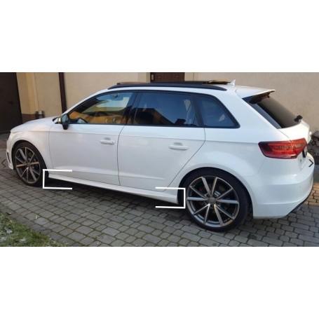 2x Bas de caisse Audi A3 8V Sportback Look S-Line 12-