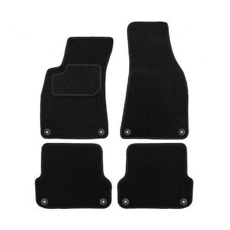Set tapis velours noir Audi A4 B6 B7 01-07