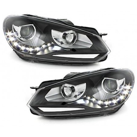 2x Phares LED Golf VI look GTD