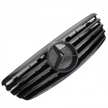 Calandre Mercedes Classe E Amg W211 noir brillant 02-06