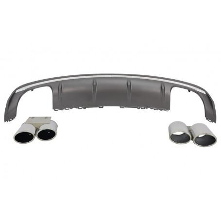 Diffuseur arriere Audi A3 8V berline S3 Look 12-15 (2+2)