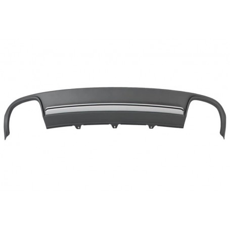Diffuseur arriere Audi A4 B8 S4 look 08-11 (2+2)