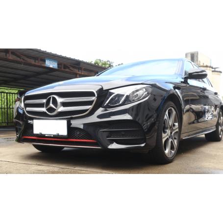 Rajout pare choc Mercedes Benz W213 Classe E