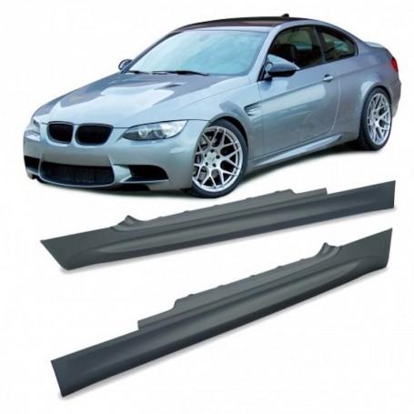 2x Bas de caisses BMW E92 Look M 07-09