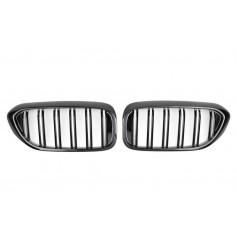 2x Grilles de Calandre Serie 5 M Performance Noir G30 G31 17+ brillant