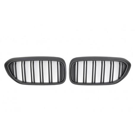 2x Grilles de Calandre Serie 5 M Performance Noir G30 G31 17+ mat