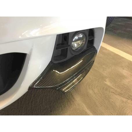 2X Volets pare choc carbone BMW serie 5