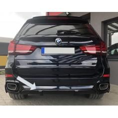 Rajout de pare choc arriere BMW X5 F15 Pack M look M Performance