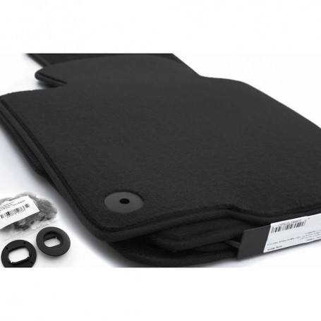 Set tapis velour noir Vw Golf 5/6, Jetta, Scirocco 03-12