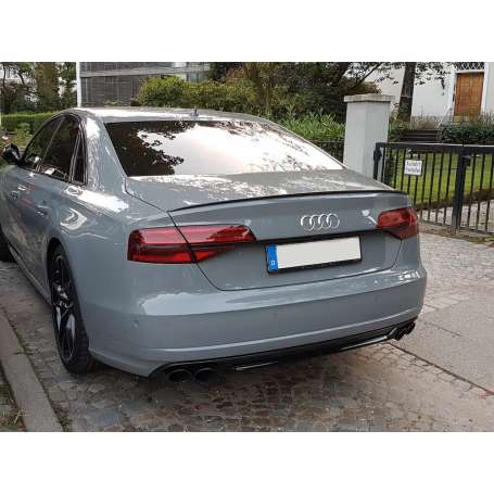 Becquet Audi A8 Berline look S Line noir brillant