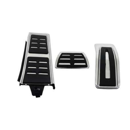 Pack pedaliers Alu Audi A4 B8, A5, Q5, A6 4G, A7, Porsche Macan