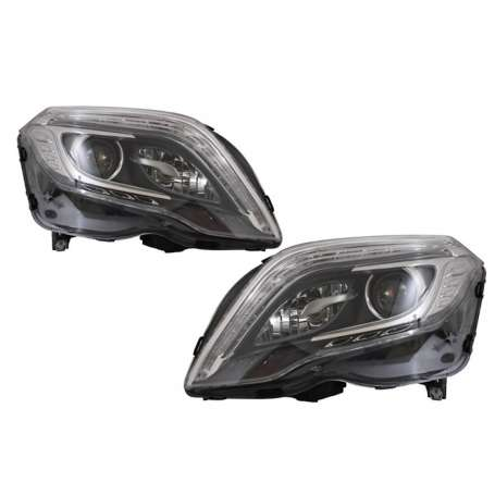 2x Phares Mercedes GLK Look Xenon LED 13-15