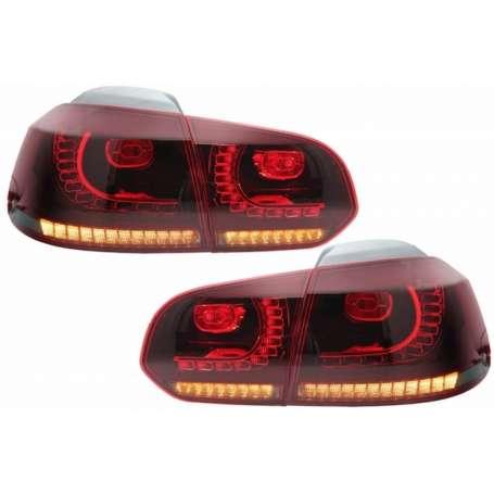 2x Feux a LED Golf VI GTI R Line dynamique 08-13 fumé