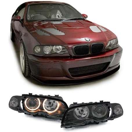 2x Phares BMW Serie 3 E46 coupe/cabrio 99-03