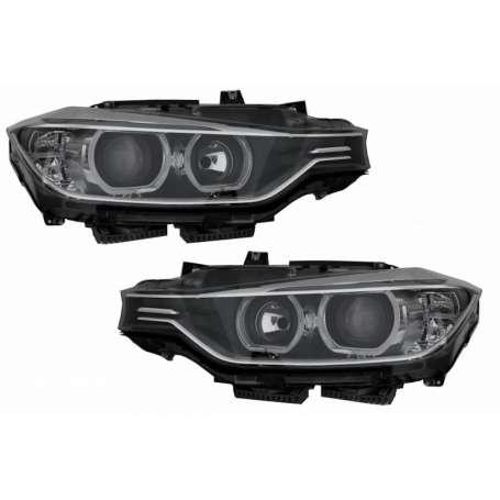 2x Phares avants LED BMW Serie 3 F30 F31 Look Xenon 11-15