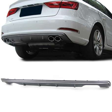 Diffuseur arriere Audi A3 8V Sportback Look S3 12-15 (2+2)