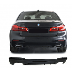 Diffuseur arrière BMW serie 5 G30 G38 Noir Brillant 16+