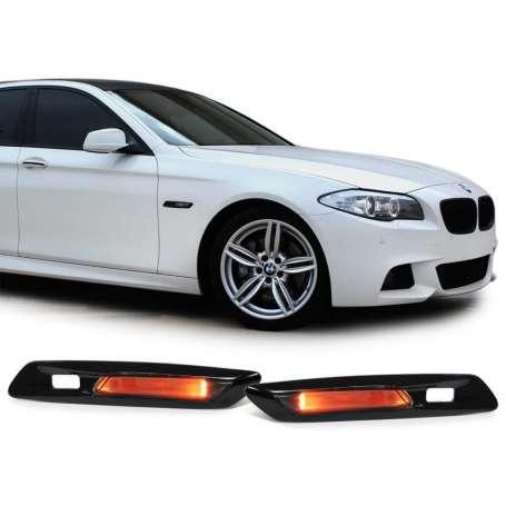 2x Clignotants LED BMW Serie 5 F10 F11 noir fumé 10-13