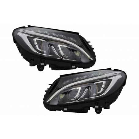 2x Phares Full LED Mercedes Classe C W205 S205 14-18