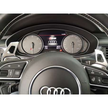 2x Extensions palettes au volant Audi