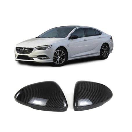 2x Coques Rétroviseurs carbone Opel Insignia B