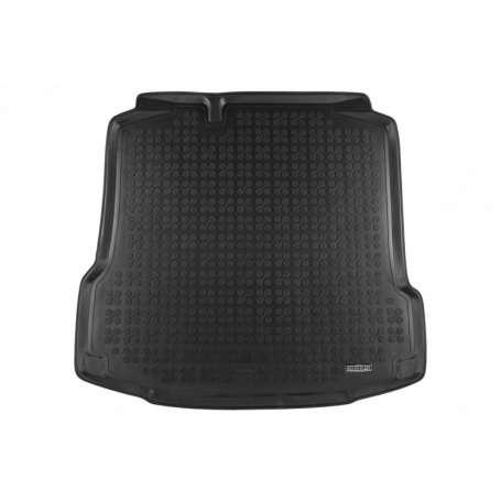 Tapis de coffre en caoutchouc noir Seat Toledo et Skoda Rapid
