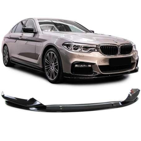 Spoiler avant BMW serie 5 G30 G38 Noir Brillant 16+