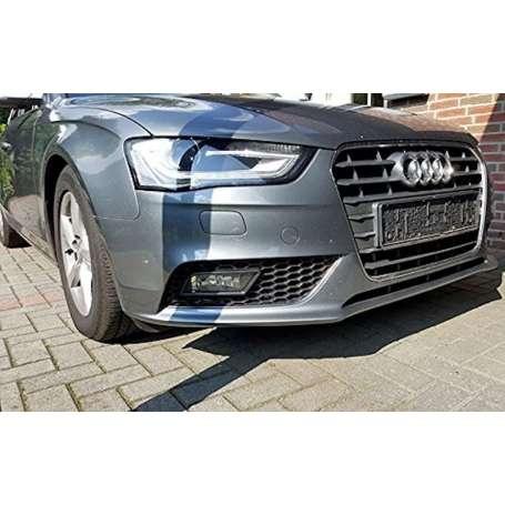 Enjoliveurs de feux antibrouillard adaptables à AUDI A4 B8 facelift (12-15) Noir RS4 Design